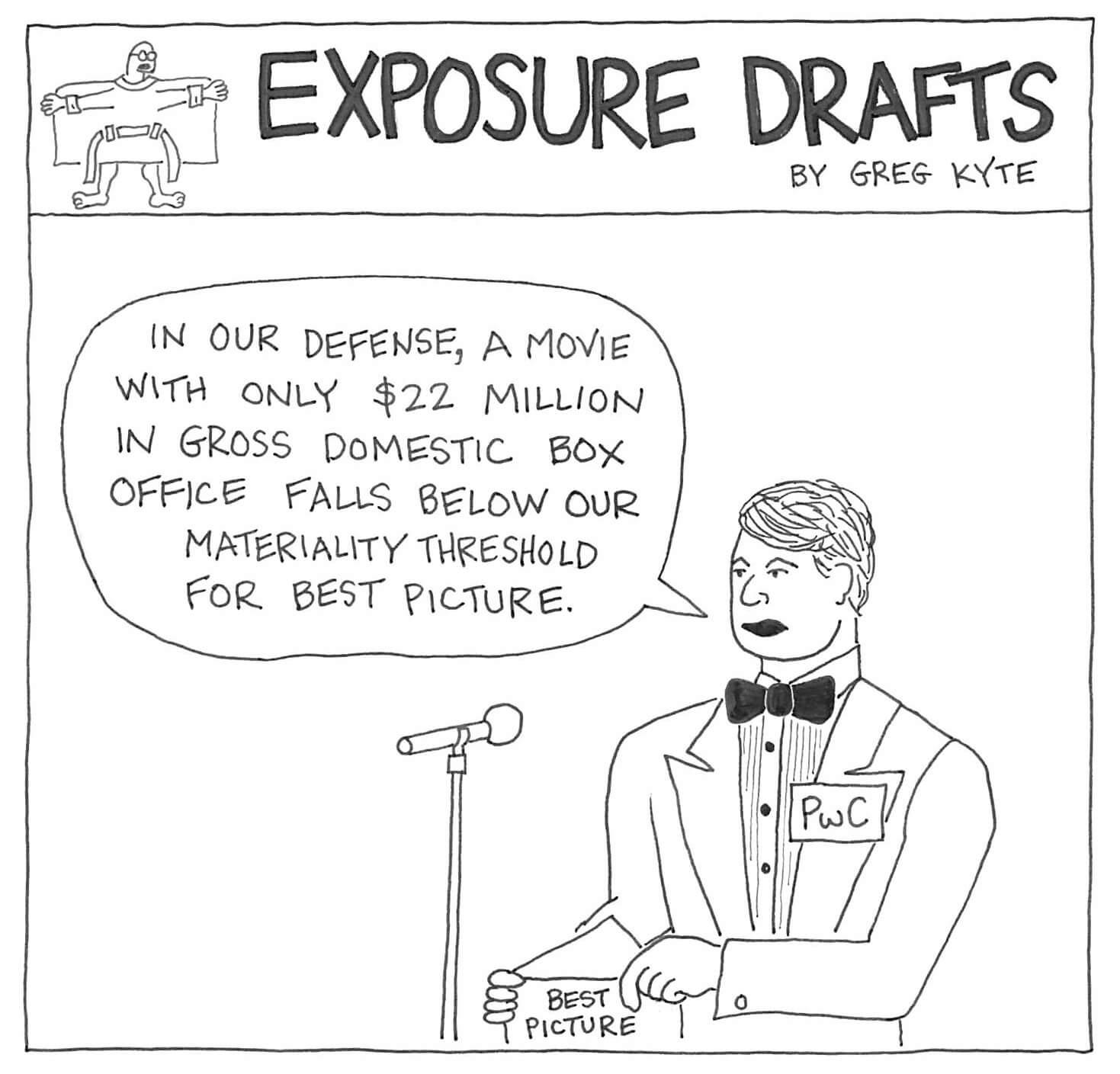 Exposure Drafts: PwC Partners Shouldn't Moonlight As