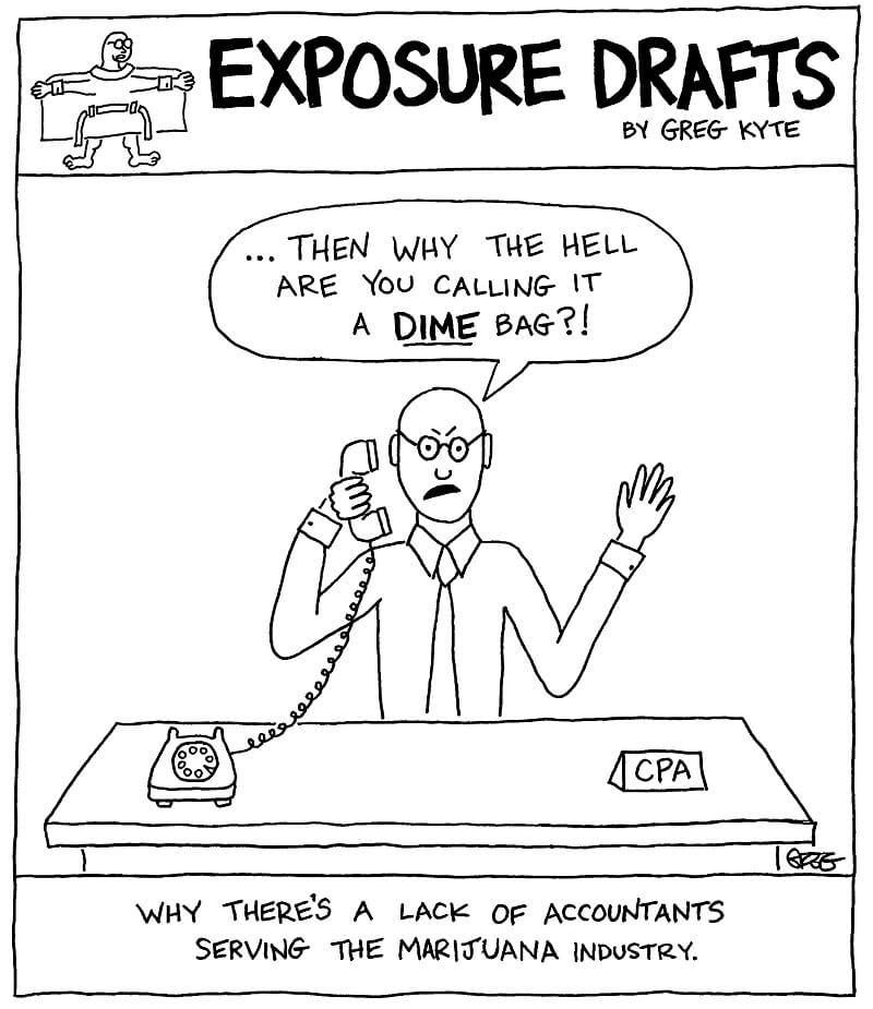 accountants marijuana industry