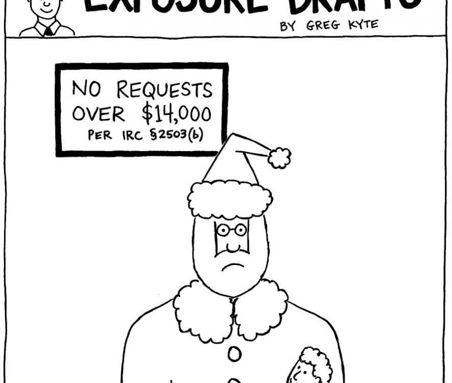 ED - Santa Gift Tax exclusion