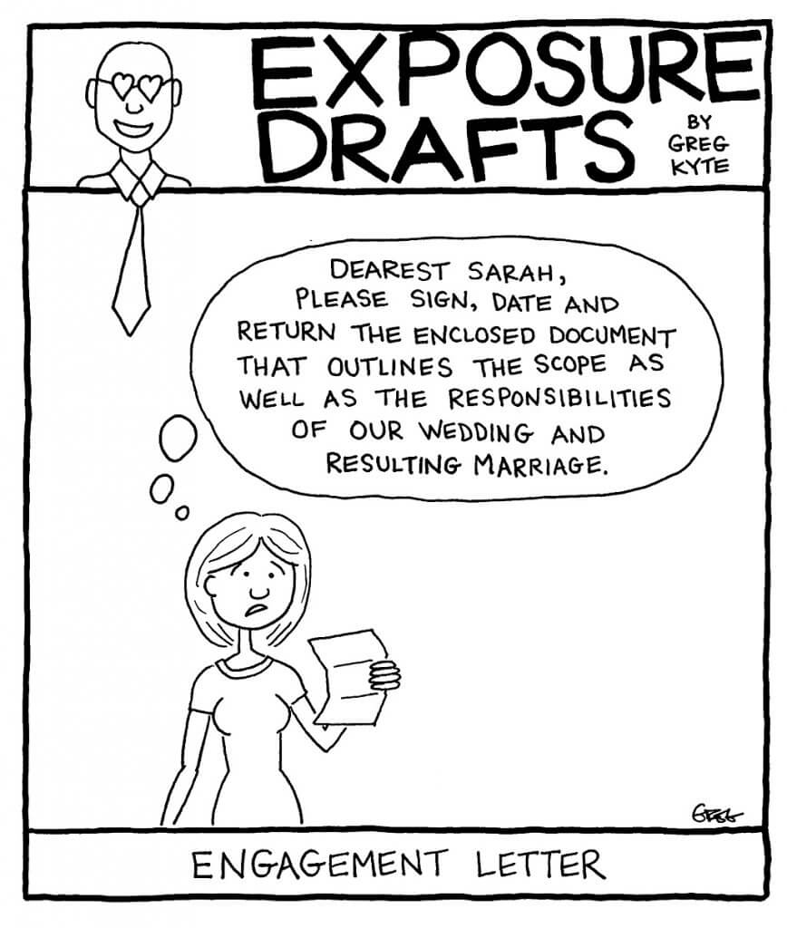 Exposure Drafts: This Valentine's Day, Maybe You Should Finally